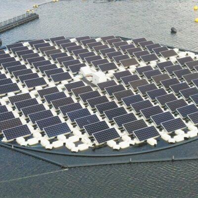 Ilha paineis solares